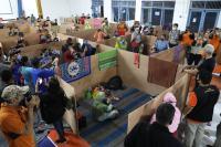 Kemensos Salurkan Bantuan hingga Bangun Dapur Umum untuk Pengungsi Merapi