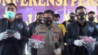 Polda Jabar Ungkap Penjualan Senpi Rakitan Via Online, 3 Senjata Disita