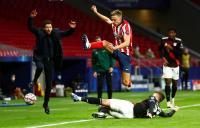 Gol Penalti Muller Paksa Laga Atletico vs Bayern Berakhir 1-1