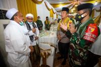 Ciptakan Kondusivitas Jelang Pilkada di Jatim, TNI-Polri Rangkul Tokoh Agama