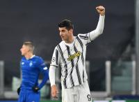 Morata Samai Rekor Striker Legenda Juventus, David Trezeguet di Liga Champions