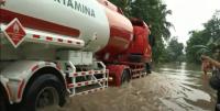 Sungai Serayu Meluap, Jalan Nasional Banyumas-Yogyakarta Putus Terendam Banjir