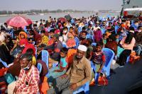 Bangladesh Mulai Kirim Pengungsi Rohingya ke Pulau Terpencil