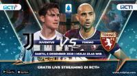 Live Streaming Juventus vs Torino di RCTI+