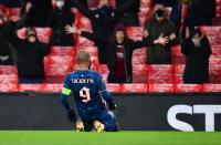 Bahagianya Lacazette Sudahi Paceklik Gol untuk Arsenal