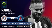 Saksikan Live Streaming Montpellier vs PSG di RCTI+