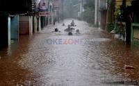 Diguyur Hujan Deras, Kabupaten Aceh Utara Diterjang Banjir 1,5 Meter