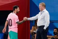 Geram, Koeman Minta Pembicaraan tentang Lionel Messi Dihentikan