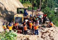 Longsor di Areal Proyek PLTA, Operator Excavator Hilang