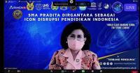 Talk Show SMA Pradita Dirgantara, Rhenald Khasali: Era Disrupsi Bukan Ancaman