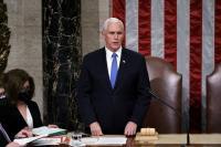 Berjanji Hormati Sejarah AS, Pence Pastikan Pelantikan Biden Aman