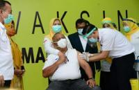 Testimoni Gubernur Gorontalo Usai Disuntik Vaksin Covid-19