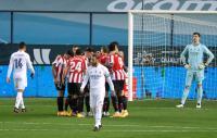 Real Madrid Tertinggal 0-2 dari Athletic Bilbao di Babak Pertama