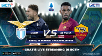 Live Streaming Lazio vs AS Roma Bisa Disaksikan di RCTI+