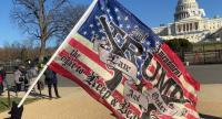 Hampir 300  Tersangka Kerusuhan di Gedung Capitol Ditangkap
