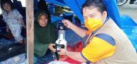 Ini Lampu Darurat Pakai Energi Air Garam untuk Pengungsi Gempa Majene