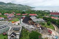 Begini Penampakan Dampak Gempa Majene