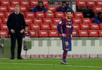 Barcelona vs Bilbao, Lionel Messi Terancam Absen di Laga Final