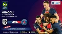 Saksikan Live Streaming Angers vs PSG di RCTI+