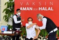 Dongkrak Pamor Vaksin Sinovac, Presiden Jokowi Jadi Sorotan Netizen di China