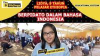 Bangga, Pelajar Ethiopia 9 Tahun Gunakan Bahasa Indonesia saat Berpidato