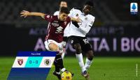 Hasil Liga Italia Semalam: Torino dan Bologna Gagal di Laga Kandang, Sampdoria Kalahkan Udinese