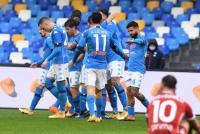 Napoli Hancurkan Fiorentina Enam Gol Tanpa Balas