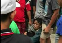 Jambret HP Anak Kecil, Pemuda Ini Bonyok Dipukuli Warga