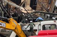 Pascagempa Sulbar, Pembersihan Reruntuhan Bangunan Ditargetkan Tuntas 15 Hari