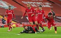 Liverpool vs Man United Masih Tanpa Gol pada Babak Pertama