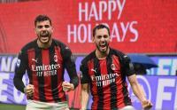 Kabar Buruk dari AC Milan, Calhanoglu dan Theo Hernandez Positif Covid-19
