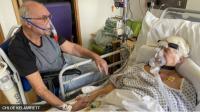 Dirawat di RS karena Covid-19, Kakek-Nenek Bertemu untuk Terakhir Kalinya
