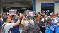 Dua Jenazah Korban Sriwijaya Air SJ-182 Tiba di Pangkalpinang