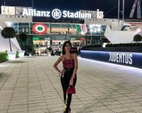 Intip Pesona Georgina Rodriguez saat Mejeng di Allianz Stadium