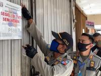115 Unit Usaha Disegel Selama PPKM Kota Semarang