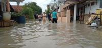 Sudah 2 Hari Ribuan Rumah di Cirebon Kebanjiran