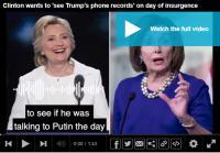 Hillary Clinton Tuduh Trump Telepon Putin Saat Kerusuhan Capitol