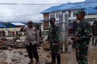 Banjir Bandang Terjang Paniai Timur, 2 Rumah Warga Hanyut