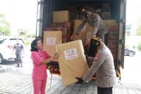 Polda Jatim Kerahkan Bantuan ke Korban Banjir Kalsel dan Gempa di Sulbar
