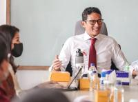 Sandiaga Uno Ajak MRT Kolaborasi Promosikan Pariwisata dan Ekonomi Kreatif