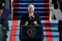 Pidato Pertama, Biden Serukan Persatuan di AS