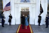 Momen Biden Masuk ke Gedung Putih: