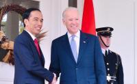 Jokowi Ucapkan Selamat pada Joe Biden & Kamala Harris
