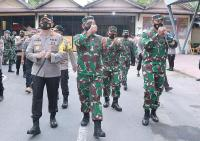TNI-Polri Solid, Pangdam Udayana: Tak Ada yang Bisa Ganggu NKRI