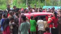 Takut Tak Kebagian, Korban Gempa Majene Hadang Kendaraan Bantuan Logistik