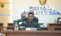 KSAD Pastikan TNI AD Maksimalkan Evakuasi Korban Gempa Mamuju Sulbar