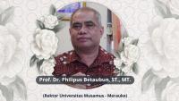 Rektor Universitas Musamus Merauke Meninggal Dunia