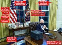 Duduki Kantor Oval, Biden Ganti Patung Winston Churchill dengan Martin Luther King, Rosa Parks, Cesar Chavez, dan Robert F. Kennedy