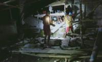 Bangunan Retak dan Roboh Imbas Gempa M7,1 di Talaud