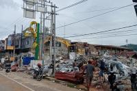 Korban Gempa Mamuju Kesulitan Air Bersih